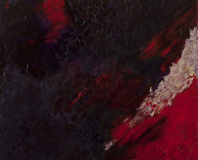 Accélération - Huile, 60x50 cm