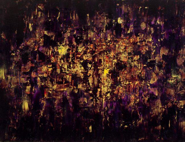 Apprécier les Ténèbres - Huile, 80x54 cm