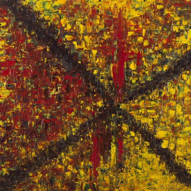 Destin - Huile, 70x70 cm