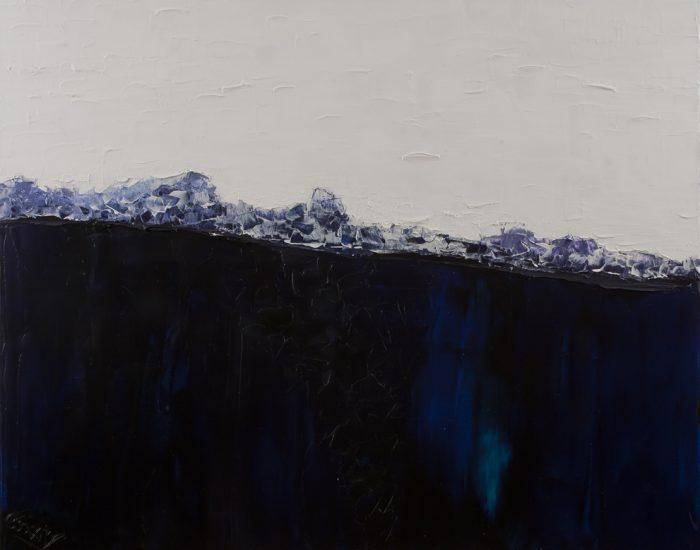 Iceberg - Huile, 100x80 cm