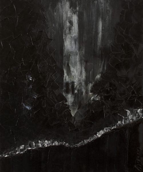 L'Âme en Paix - Huile, 50x60 cm