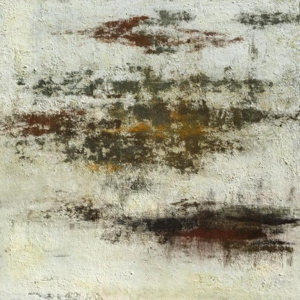 Terra Banca - Huile, 120x120 cm