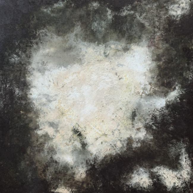 Bing Bang - Huile, 150x150 cm