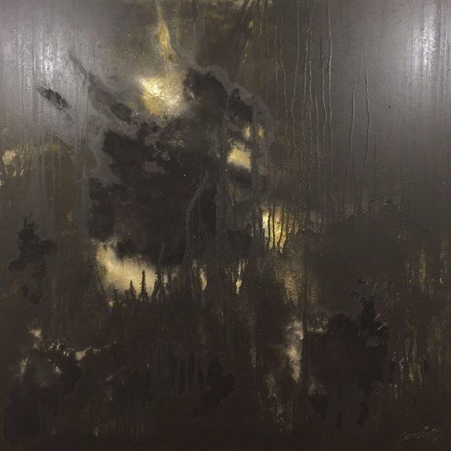 Attraction Lunaire - Huile 140x210 cm
